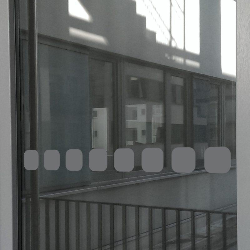 Milchglasfolie Sichtschutz