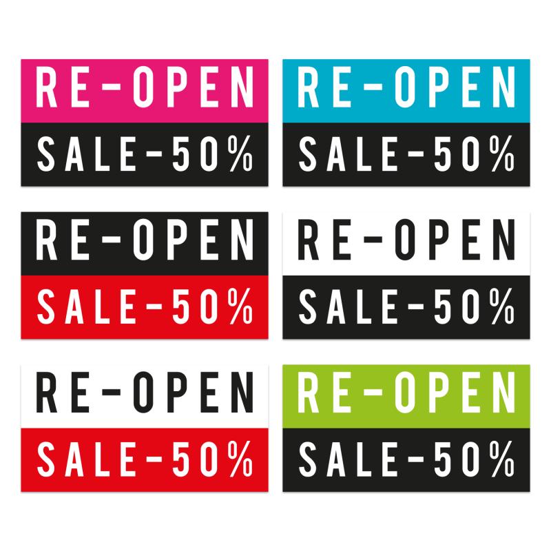 reopen_sale_aufkleber_schaufensterfolie