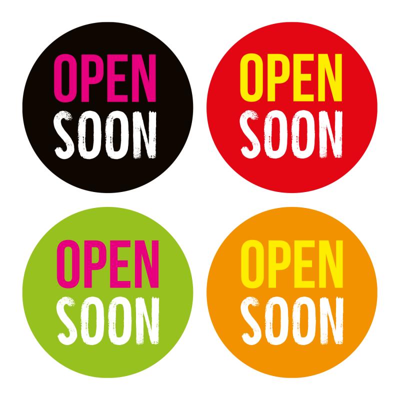 open_soon_aufkleber_schaufensterfolie_hinweis